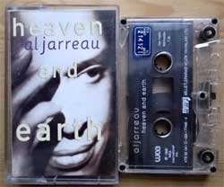 аудиокассета AL JARREAU ''Heaven And Hell'' (1992 Turkey RARE press, 77466-4, ex/near mint) (MC2027) (D)