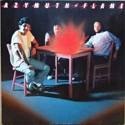 винил LP AZYMUTH ''Flame'' (1984 German press, 823 827-1 ME, ex-/ex-)