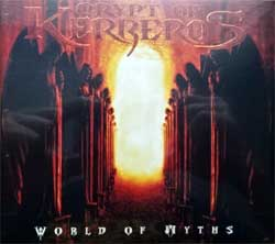 CRYPT OF KERBEROS ''World Of Myths'' (1993 RI 2012 Singapore press, ASH 087 CD, new, sealed) (digipak) (CD)