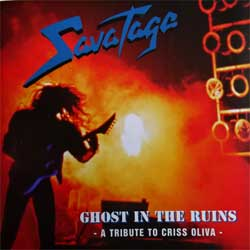 SAVATAGE ''Ghost In The Ruins - A Tribute To Criss Oliva'' (1995 German press, SPV 085-12142, mint/mint) (CD)