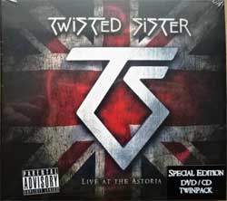 TWISTED SISTER ''Live At The Astoria'' (2008 press, special edition, original sticker, DEMUS 005, barcode 667348100023, new, sealed) (digipak) (CD+DVD)