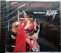 GREAT KAT ''Guitar Goddess'' (`1996 RI USA press, barcode 182385000001, new, sealed) (CD)