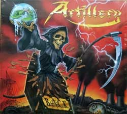 ARTILLERY ''B.A.C.K.'' (1999 RI 2018 Poland press, 4 bonustracks, MASS CD 1532 DG, new, sealed) (digipak) (CD)