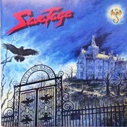SAVATAGE ''Poets And Madmen'' (2001 German press, SPV 085-72152 CD, ex+/near mint) (CD)