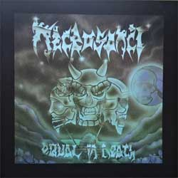 NECROSANCT ''Equal In Death'' (RARE limited edition press) (CD)