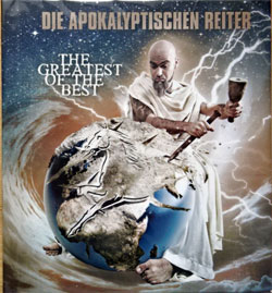 DIE APOKALYPTISCHEN REITER ''The Greatest Of The Best'' (2011 German press, limited edition, 48-pages booklette, NB 2776-0, near mint/near mint) (digibook) (CD)