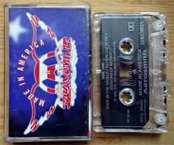 аудиокассета AEROSMITH ''Made In America'' (1997 Canada press, Dolby, IDT 85260, near mint/ex) (MC3590) (D)