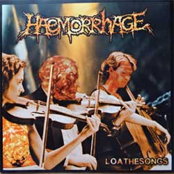 HAEMORRHAGE ''Loathesongs'' (2000 German 1st press, MR 070/SPV 076-09132, ex+/near mint) (CD)