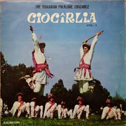 "винил LP CIOCIRLIA ""The Romanian Folklore Ensemble ""Ciocirlia"" Vol.II"" (Romanian press, ST-EPE 0471-2, ex-/vg+)"