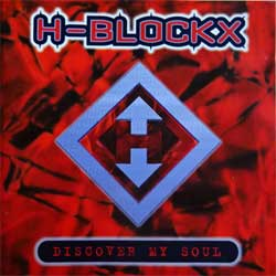 H-BLOCKX ''Discover My Soul'' (1996 German press, tour sticker, 74321 40291 2, ex-/near mint) (CD)