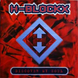 H-BLOCKX ''Discover My Soul'' (1996 German press, tour sticker, 74321 40291 2, ex/ex) (CD)