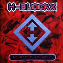 H-BLOCKX ''Discover My Soul'' (1996 German press, tour sticker, 74321 40291 2, ex-/ex) (CD)