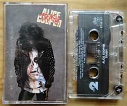 аудиокассета ALICE COOPER ''Trash'' (1989 USA press, Dolby, OET 45137, ex+/ex+) (MC3623)