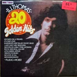"винил LP B.J. THOMAS ""20 Golden Hits"" (1974 New Zealand RARE press, laminated, ex/ex)"