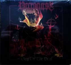 NECROCURSE ''Grip Of The Dead'' (2013 Singapore press, foiled, ASH 099 DG, new, sealed) (digipak) (CD)