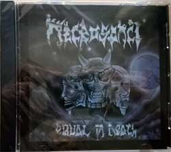 NECROSANCT ''Equal In Death'' (1990 RI Canada press, KR5852, new, sealed) (CD)