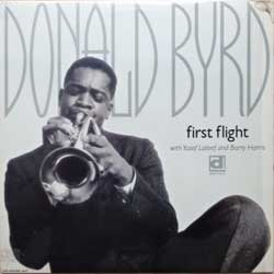 винил LP DONALD BYRD ''First Flight'' (1956 RI 1990 USA press, DL-407, ex+/ex-) (D)