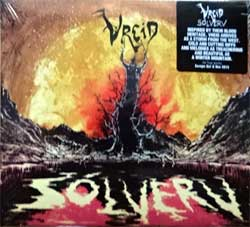 VREID ''Solverv'' (2015 Norway press, original hype sticker, limited edition, with patch, INDIE164CDL, new, sealed) (digipak) (CD)