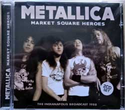 METALLICA ''Market Square Heroes (The Indianapolis Broadcast 1988)'' (2016 UK RARE press, SMCD949, mint/mint, new) (2xCD)