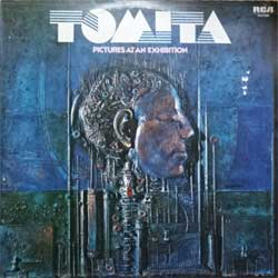 "винил LP TOMITA ""Pictures At An Exhibition"" (1975 German press, RARE CLUB edition, ex-/ex-)"