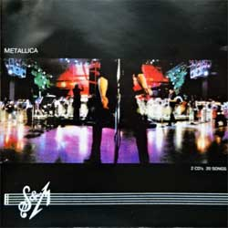 METALLICA ''S&M'' (1999 Russian RARE press, 542 216-2, ex+/ex) (2xCD)