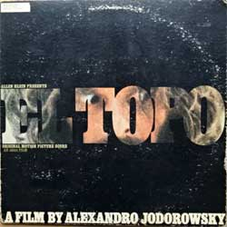 винил LP ALEXANDRO JODOROWSKI ''El Topo (Original Motion Picture Score)'' (1971 USA press, gatefold,  booklette, SWAO-3388, vg/vg)