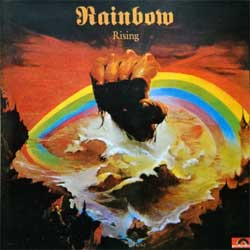 RAINBOW ''Rising'' (1976 RI 1990's Russian RARE press, 823 655-2, matrix BS 072, ex+/mint) (CD)