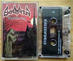 аудиокассета EXHUMATION ''Wandering'' (1998 Russian press, mint/mint) (MC3765)