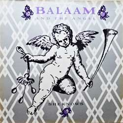 "винил LP BALAAM AND THE ANGEL ""She Knows"" (4-track 12') (1986 German press, ex-/ex-)"