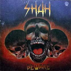 винил LP SHAH ''Beware'' (1989 RI 1991 USSR press, ME 1833-4, зак.153, тир.20000, vg+'ex)