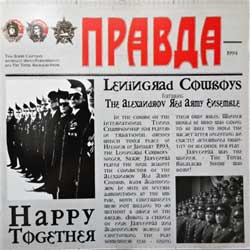 LENINGRAD COWBOYS feat. THE ALEXANDROV RED ARMY ENSEMBLE ''Happy Together'' (1994 German press, ex/mint) ,(CD)