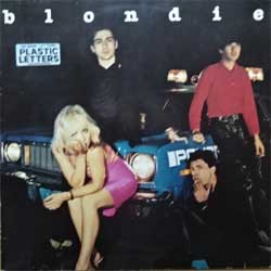 "винил LP BLONDIE ""Plastic Letters"" (1978 German press, ex-/vg+)"