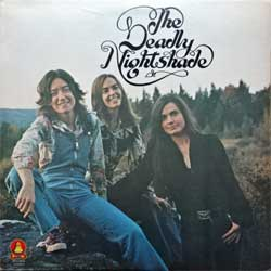 винил LP DEADLY NIGHTSHADE ''The Deadly Nightshade'' (1975 USA press, gatefold, insert, BPL1-0955, ex-/ex-)