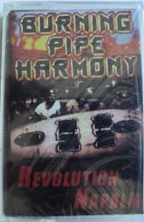 аудиокассета BURNING PIPE HARMONY ''Revolution Napalm'' (2001 RARE Hobgoblin Records press, sealed) (MC262)