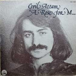 винил LP CYRIL AZZAM ''A Rose For M…'' (1975 France press, CEZ 1003, ex-/vg+)