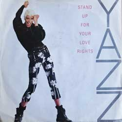 винил LP YAZZ ''Stand Up For Your Love Rights'' (7''single) (1988 German press, INT 110.779, vg+/ex-)