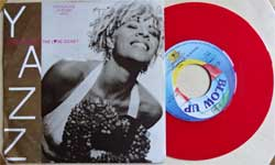 винил LP YAZZ ''Where Has All The Love Gone?'' (7''single) (1989 German press, RED VINYL, INT 110.787, mint/ex)