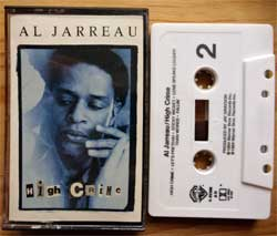 аудиокассета AL JARREAU ''High Crime'' (1984 USA press, AR, Dolby HX PRO B NR, 4-25106, mint/mint) (MC3873)