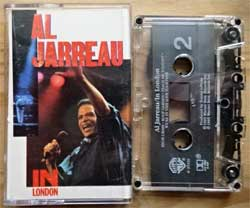 аудиокассета AL JARREAU ''In London'' (1985 USA press, Dolby HX PRO B NR, 4-25331, mint/mint) (MC3874)