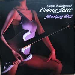 винил LP YNGWIE MALMSTEEN'S RISING FORCE ''Marching Out'' (1985 Japan press, insert, 28MM 0420, near mint/ex-)
