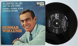 винил LP GUNNAR WIKLUND ''En Serenad Till Dej (fran Universalfilmen ''The Countess from Hong Kong'') (4 track 7''single) (1967 Sweden press, laminated, vg+/mint)