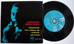винил LP GUNNAR WILKUND sjunger till GOSTA THESELIUS ORKESTER ''Romantica'' (4 track 7''single) (1960 Sweden press, laminated, vg+/ex)