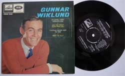 винил LP GUNNAR WIKLUND ''En Gang I Vart Sommarland'' (4 track 7''single) (1964 Sweden press, laminated, vg+/near mint)