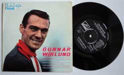 винил LP GUNNAR WIKLUND ''Solsken Kan Man Alltid Finna'' (4 track 7''single) (1965 Sweden press, laminated, ex/near mint)