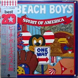 винил LP BEACH BOYS ''Spirit Of America'' (1975 Japan press, obi, insert, ECS-90026, ex/ex)