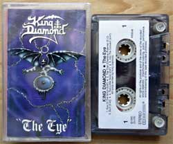 аудиокассета KING DIAMOND ''The Eye'' (1990 Holland press, RR9346/NR355, near mint/ex-) (MC2055)
