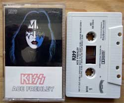 аудиокассета KISS ''Ace Frehley Solo Album'' (1978 USA RI 1988 press, 422 826 916-4, mint/mint) (MC2057)