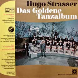 винил LP HUGO STRASSER ''Das Goldene Tanzalbum'' (2LP-gatefold) (German press, RARE CLUB edition, laminated, 28 110-5, ex-/ex)
