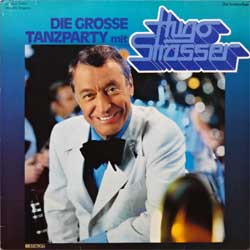 винил LP HUGO STRASSER ''Die Grosse Tanzparty Mit Hugo Strasser'' (2LP-gatefold) (German press, RARE CLUB edition, 27 205-4, ex/ex)