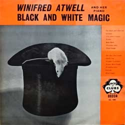 винил LP WINIFRED ATWELL And Her Piano ''Black And White Magic'' (1959 UK press, laminated, ACL 1005, vg+/vg+)